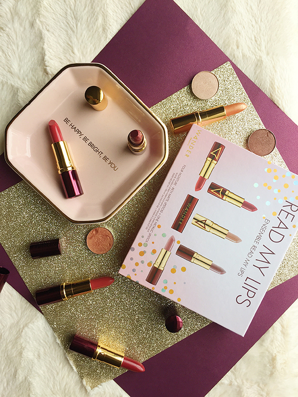Wander Beauty Read My Lips gift set, Wander Beauty, Wander Beauty lipsticks, Wander Beauty Sunset, Wander Beauty Riviera, Wander Beauty BB, Wander Beauty Sunset, Wander Beauty Hot Gossip, Wander Beauty Barely There