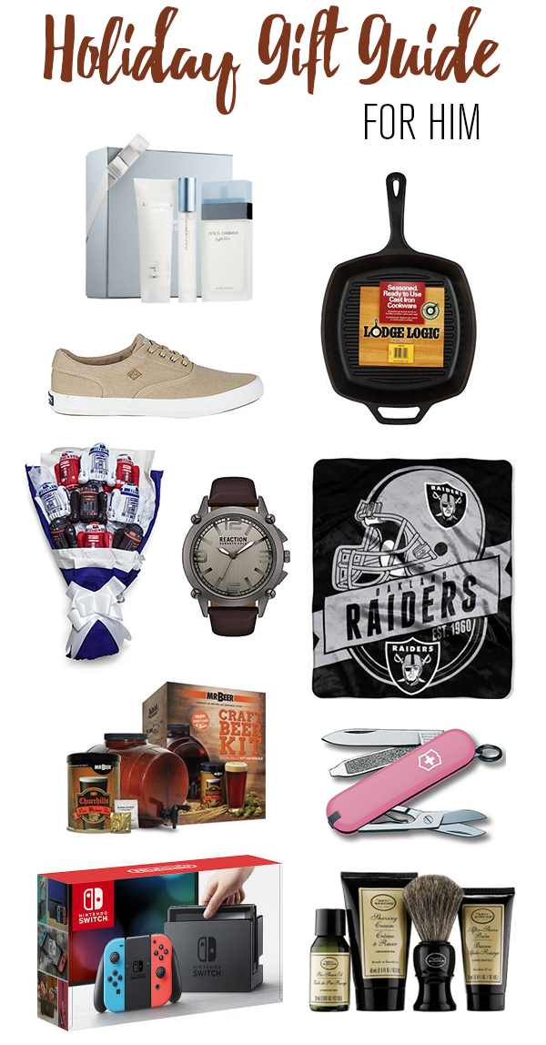 Holiday Gift Guide For Him, holiday gift guide