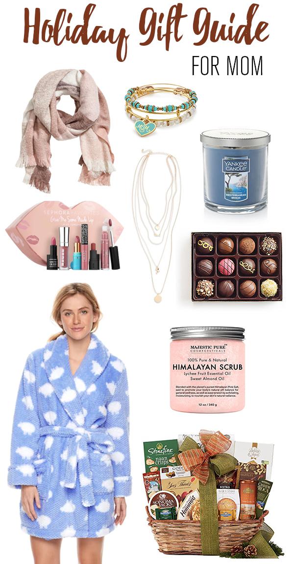 Holiday gift guide, christmas gift guide, holiday gift guide for mom