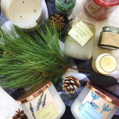 My winter candle collection